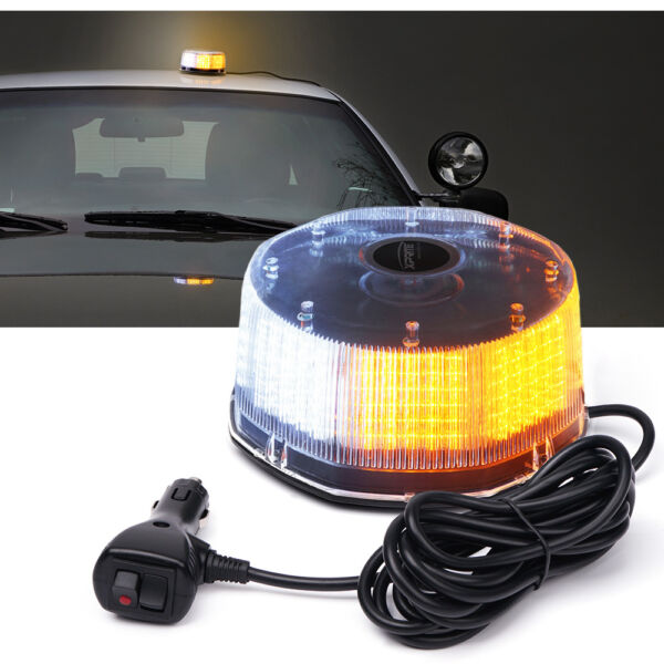 Xprite 240 LED Emergency Warning Strobe Light Flash Beacon with Magnetic Mount $32.39