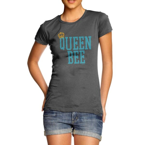 Twisted Envy Queen Bee Women#x27;s Funny T Shirt