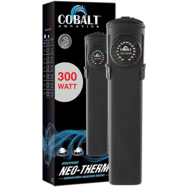 Cobalt Aquatics Neo-Therm 300 Watt Aquarium Heater w LED Display FREE USA SHIP!