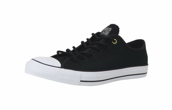 Converse Shoes Men Women All Star Chuck Taylor Woven Black White
