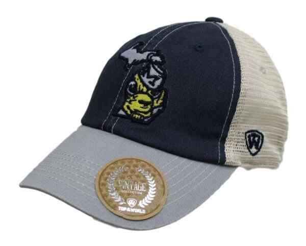 Michigan Wolverines NCAA Top of the World quot;VC Offroadquot; Adjustable Mesh Back Hat $5.95
