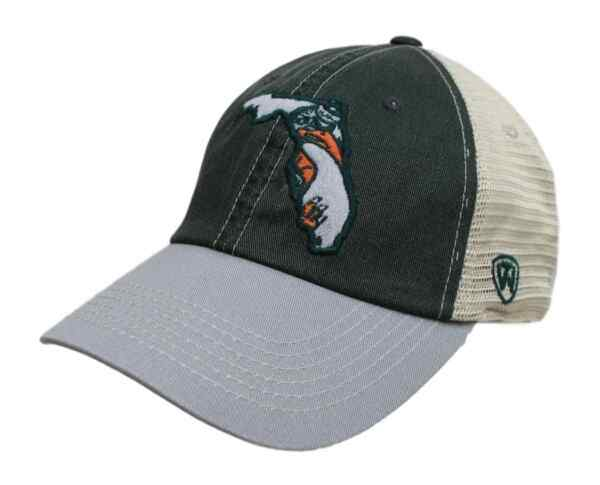 Miami Hurricanes NCAA Top of the World quot;VC Offroadquot; Adjustable Mesh Back Hat $7.95