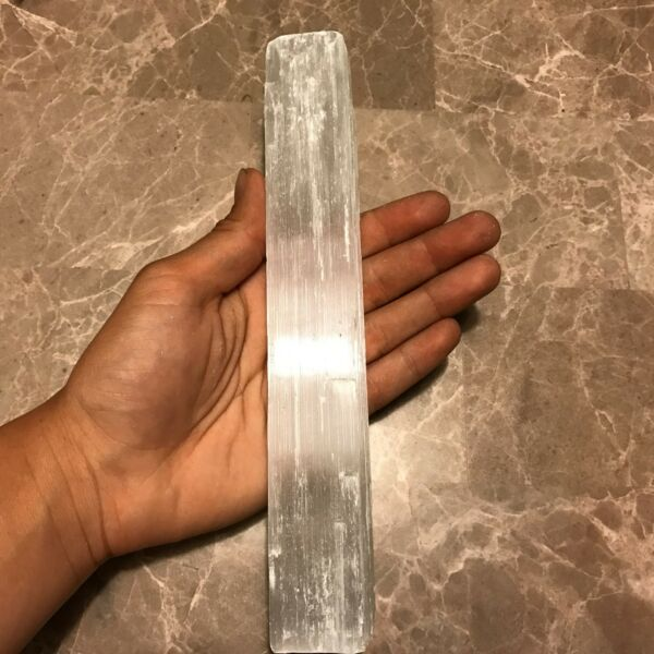 Very Large Selenite Rough Stick/Log - (1) Stick/Log - Very Nice Specimen!