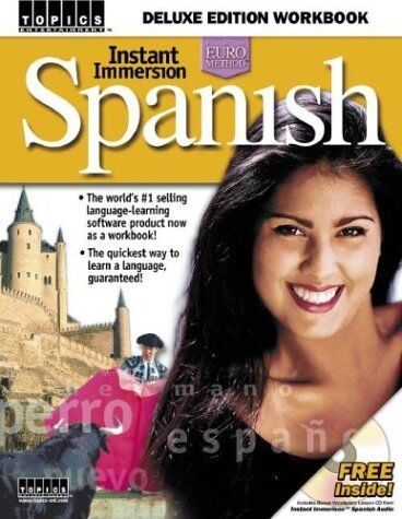 Instant Immersion Spanish: Deluxe Edition Workbook Spanish Edition Spanish and $5.24