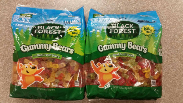 12 Lb Bag Black Forest Gummy Bears         Gummi pounds