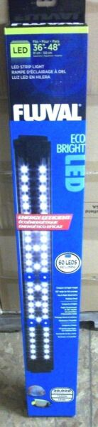 Fluval Eco Bright LED Aquarium Adjustable Light Fixture 36 48quot; Lamp 13578 $109.99