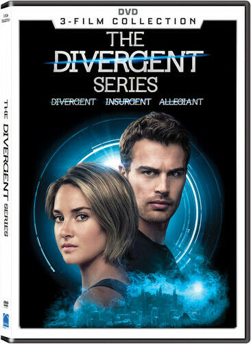 Divergent Series 3-Film Collection DVD