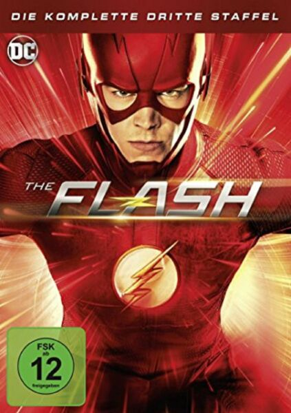 The Flash Staffel 3 NEU OVP 4 DVDs DC Serie
