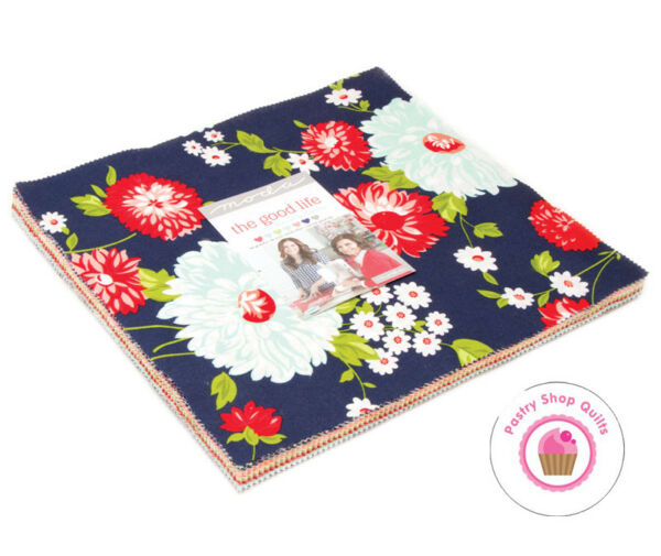 Moda THE GOOD LIFE Bonnie amp; Camille LAYER CAKE 42 10quot; Squares Quilting Fabric