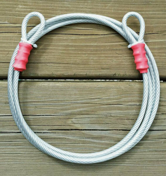 12 ft 1 8quot; Anti Theft Security Cable Bike Lock NON Coated 7x7 $9.95