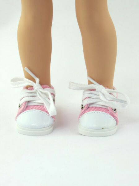 Pink Sneakers Fits Wellie Wishers 14.5