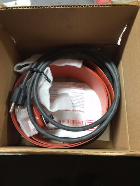 Electro-Flex Heat Drum Heater 55 Gallon 750 Watts 110 Volts