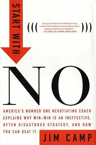 Start with NO...The Negotiating Tools that the Pro