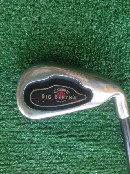 Callaway 2002 Big Bertha Single 6 Iron Regular Graphite Shaft