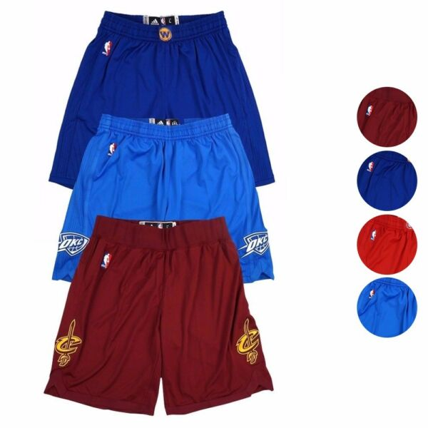 2016 NBA Adidas Authentic On-Court Team Issued Christmas Day Pro Cut Shorts Men