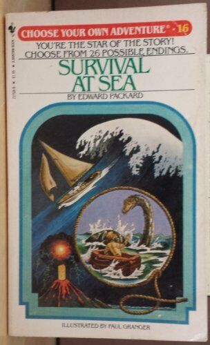 Survival at Sea (Choose Your Own Adventure 16)