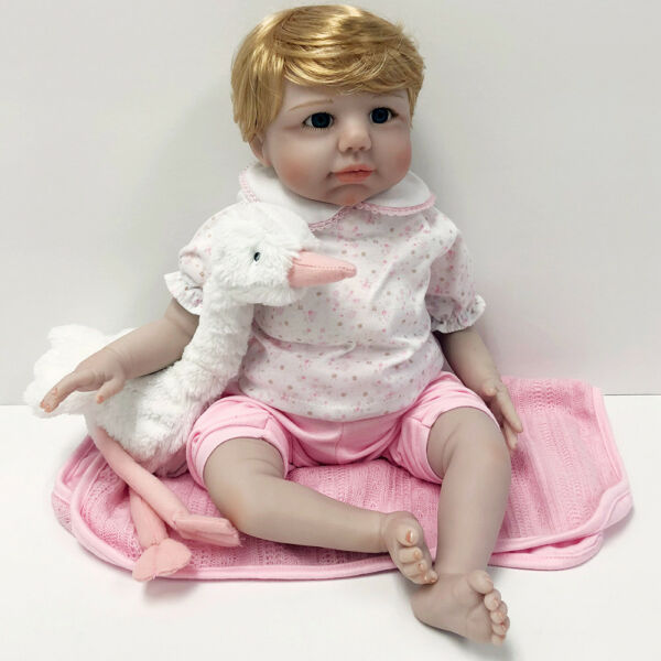 Reborn Realistic Handmade Baby Doll Girl Newborn Lifelike Vinyl Weighted Special