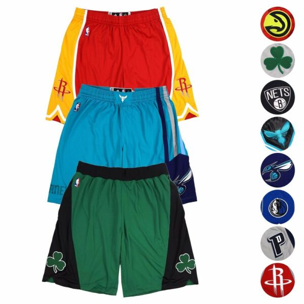NBA Adidas Authentic On-Court Team Issued Pro Cut Game Shorts Collection Men's