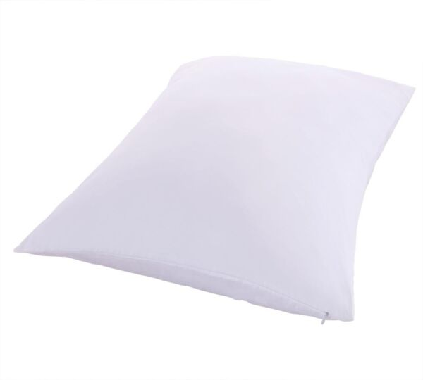 Premium Down Proof Pillow Protectors 100% Cotton 400TC Standard Or King Pair