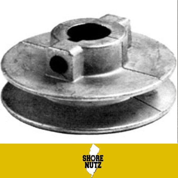 Chicago Die Cast Single V Groove Pulley A Belt 2 1 2quot; OD X 5 8quot; Bore 250A6