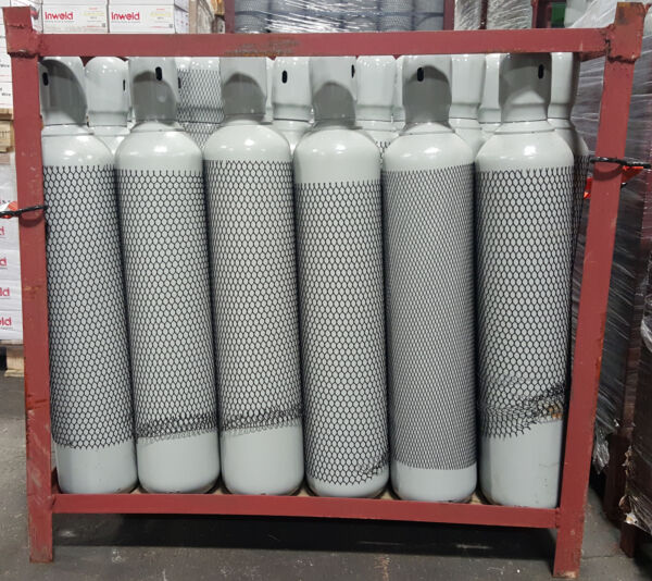 80 CF Cylinder Oxygen for Welding bottle tank CGA540 with cap $224.00