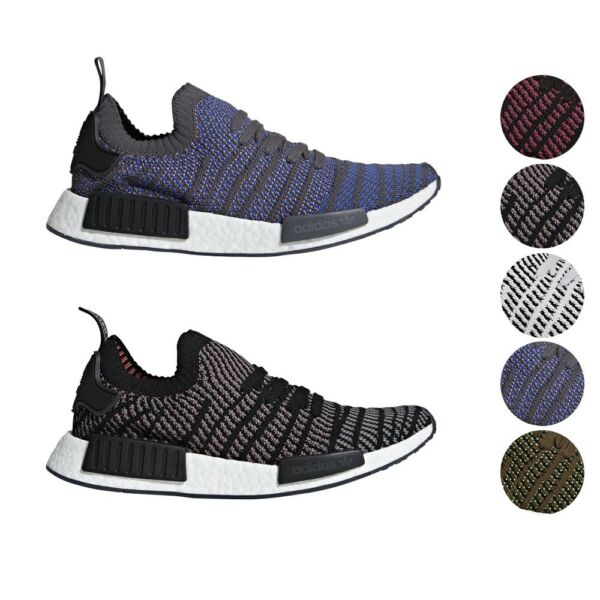 Adidas Originals NMD R1 STLT Primeknit PK Boost Shoes Men's CQ2388 CQ2389 CQ2387