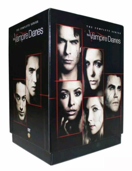 The Vampire Diaries: The Complete Series (DVD, 2017, 39-Disc Set)
