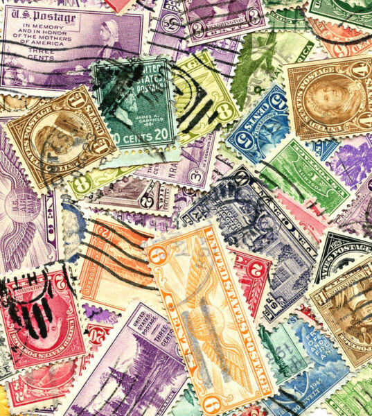 $250.00+ Book Value of United States Postage Stamps Off Paper Lot of 1000 pcs
