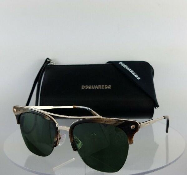 Brand New Authentic Dsquared2 Sunglasses DQ 0251 Kris 50N 55mm Frame DQ251 $118.99