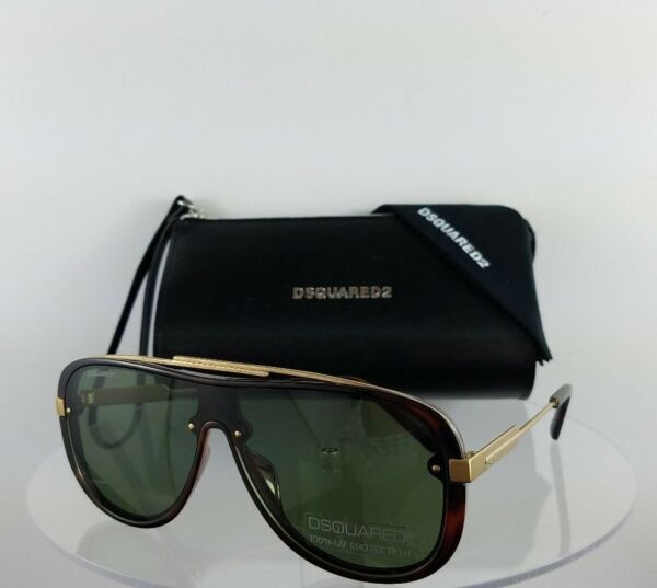 Brand New Authentic Dsquared2 Sunglasses DQ 0271 NOAH 52N 131mm Frame DQ271 $118.99