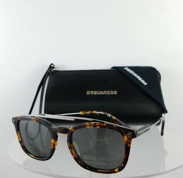 Brand New Authentic Dsquared2 Sunglasses DQ 0272 SEAN 52A 50mm Frame DQ272 $104.99