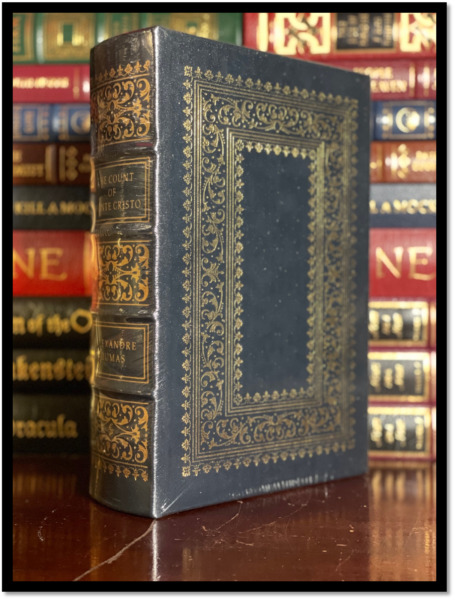 The Count of Monte Cristo by Alexandre Dumas New Sealed Leather Bound Hardback