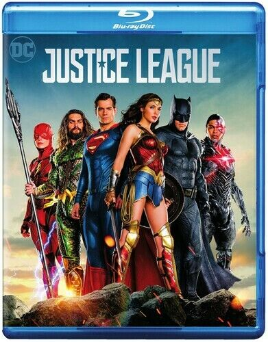 Justice League (2017) Blu-ray + DVD + Digital New