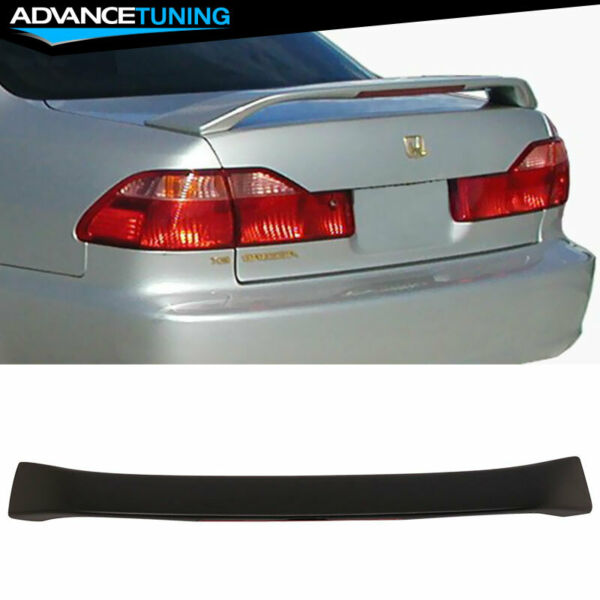 Fits 98-02 Honda Accord 4DR OE Factory Style w 3rd Brake LED ABS Trunk Spoiler $69.99