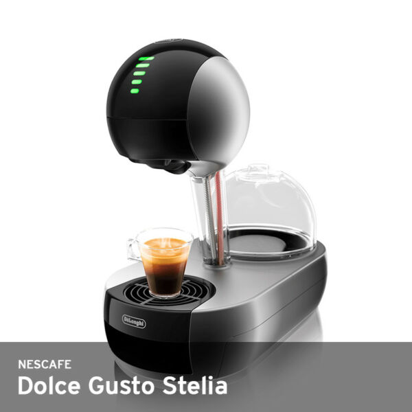 Nescafe Dolce Gusto Stelia Capsule Coffee Maker 220V 15Bar 1Liter UPS DarkS