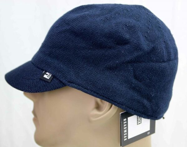 Block Headwear Cotton Club IMPOSSIBLE TO FIND Military Ivy hat NAVY