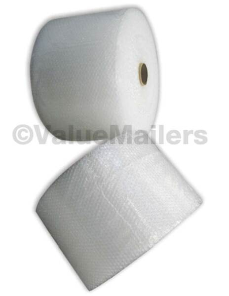 BUBBLE WRAP® Rolls Small 3 16#x27; Medium 5 16quot; Large 1 2quot; Perforated Fast Ship $24.07