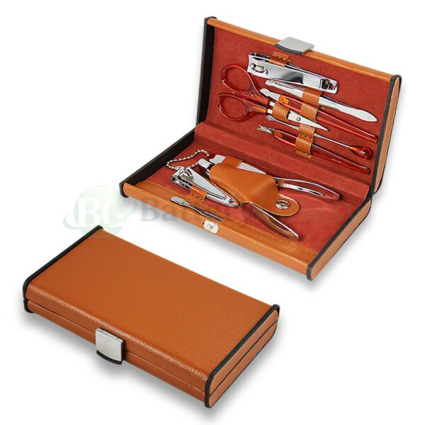 Nail Care 10Pcs Personal Manicure & Pedicure Set Travel Grooming Kit Men/Women