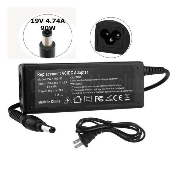 90W Adapter Charger Power Supply for HP Elitebook 2530p 8440p 8540w 2540p 8460
