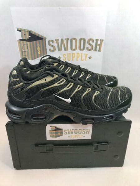 Nike Air Max Plus 852630 301 Sequoia Green Olive New Mens Sizes Running Sneakers