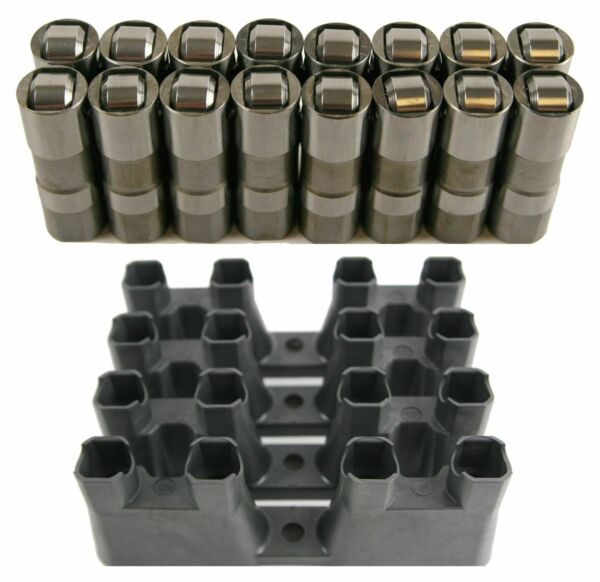 New LS7 LS2 16 GM Performance Hydraulic Roller Lifters amp; 4 Guides 12499225 HL124 $192.99