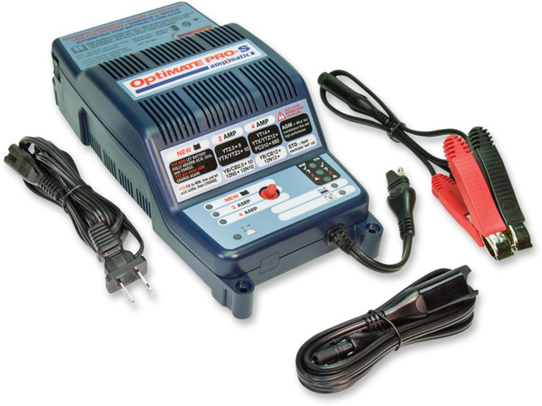 Tecmate Optimate Pro S Ampmatic Universal Motorcycle Battery Charger Maintainer $199.90