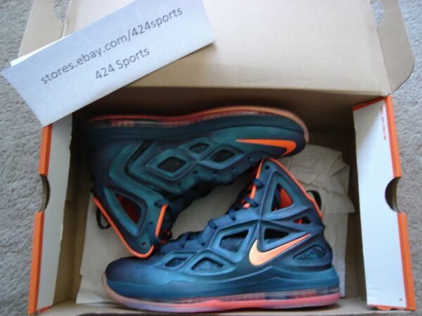 Nike Air Zoom Hyperposite 2 size 8.5 Rift Blue 653466 482