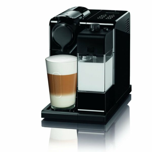 Nespresso F511BK Lattissima One Touch Capsule Coffee Machine Black New JP FS
