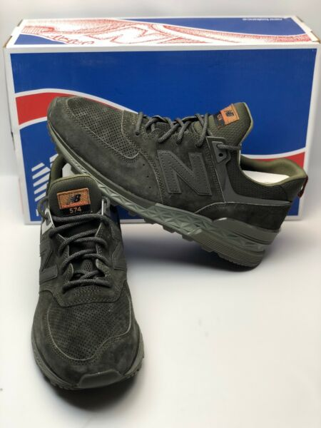 New Balance 574 MS574CA Army Olive/Green Size 12 New In Box Men Running