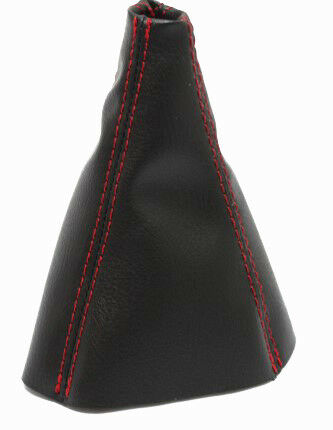 Red Stitch Manual Shift Boot Synthetic Leather For 05-10 Chevrolet Cobalt