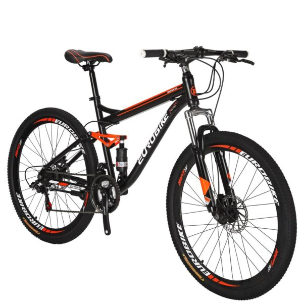 27.5quot; Full Suspension Mountain Bike Shimano 21 Speed Men#x27;s Bikes Bicycle MTB $299.00