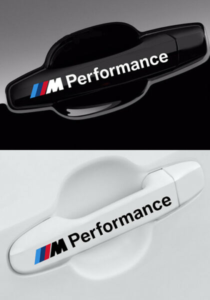 M Performance BMW Decal F20 F30 E60 F10 E90 E46 Wheel Mirror Door 8 pieces