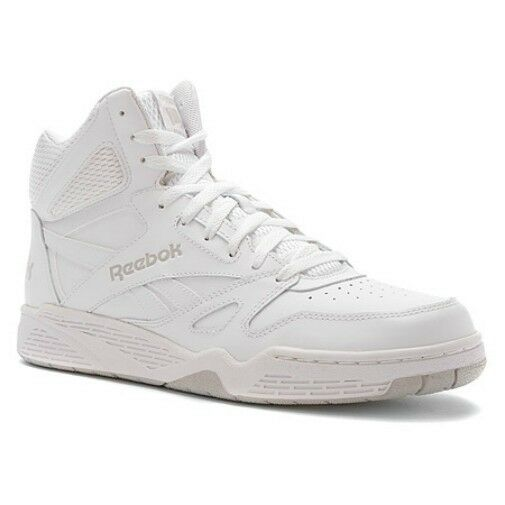 Reebok Classic Royal BB4500 High Top Sneaker in All White in Sizes 11.5