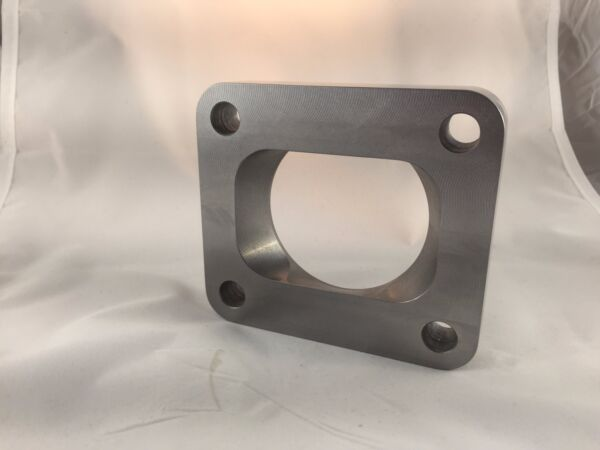 "T4 Turbo Inlet Flange To 2.5"" Pipe, Undivided, Smooth Airflow , Low profile .75"""